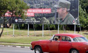 Cuba conmemora la muerte de Fidel Castro el día en que fallece Maradona