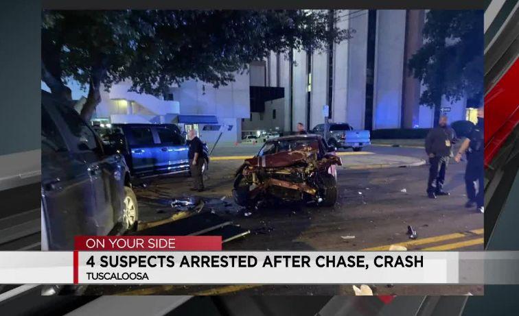 La policía de Tuscaloosa discute la política de persecución, después del accidente en el centro de la ciudad el sábado