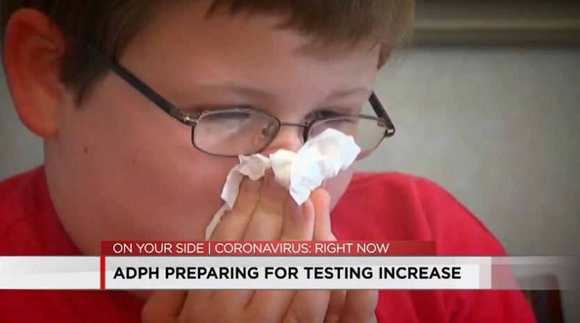 Alabama se prepara para un aumento en las pruebas de COVID-19 a medida que se acerca la temporada de influenza