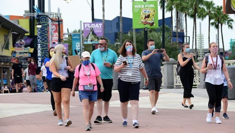 Parque Universal de Orlando alcanza su aforo máximo a los 10 minutos de abrir