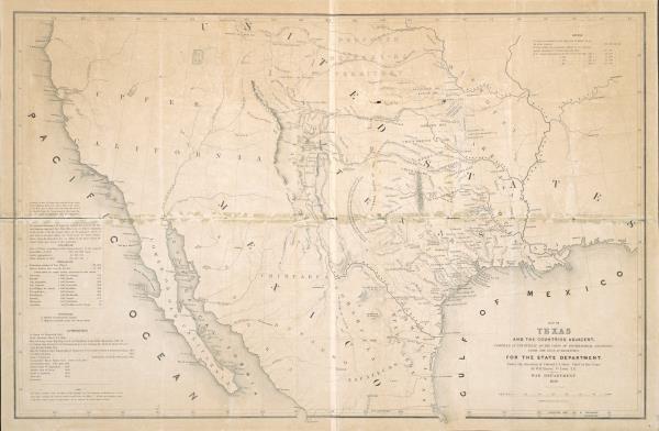 mapa EEUU y