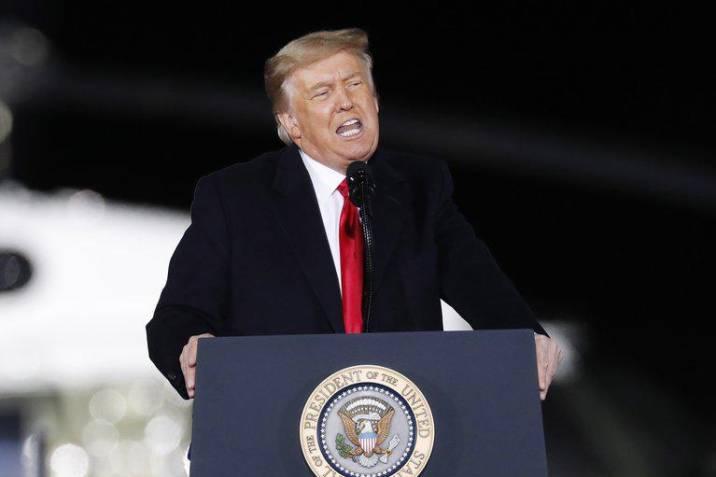 Trump lleva su discurso antidemocrático a Georgia antes de elecciones clave
