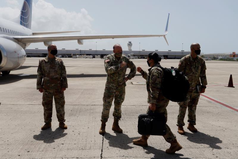 Más de 200 soldados puertorriqueños asegurarán la investidura de Biden