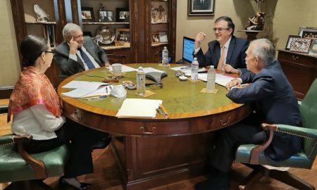 Lopez Obrador y Ebrard