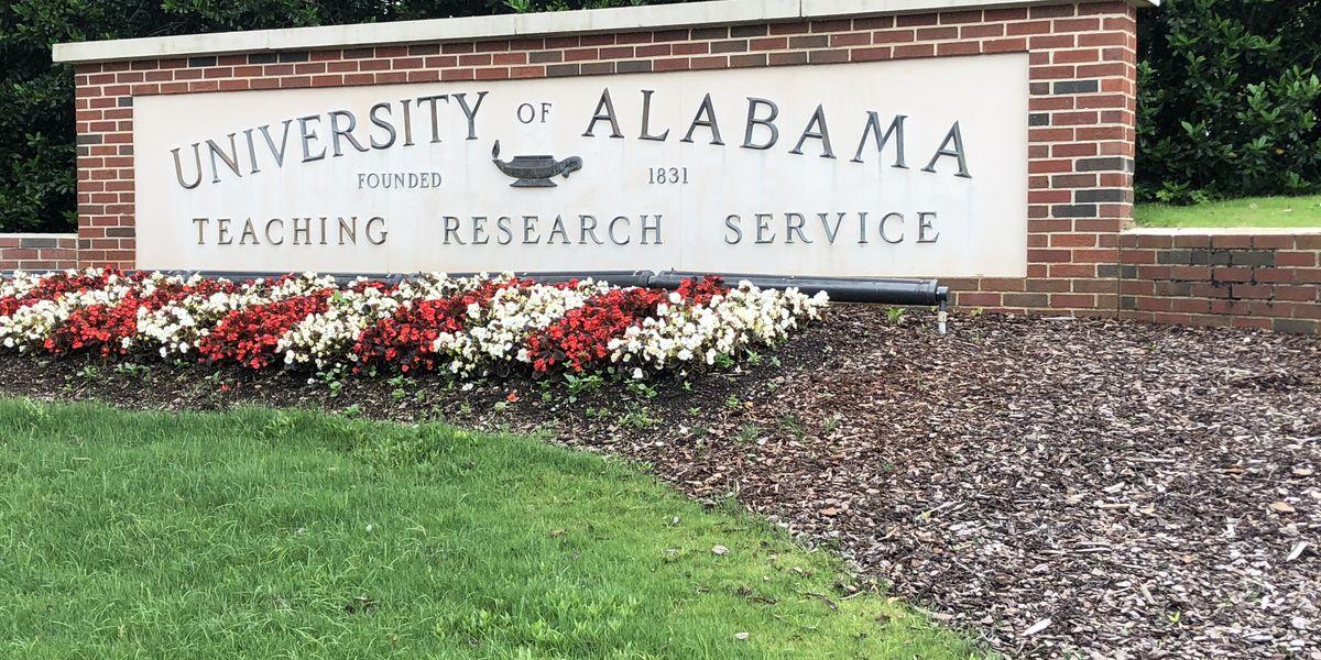 casos de covid en la Universidad de Alabama