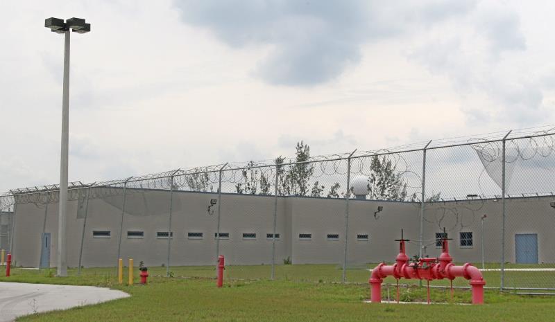 centro de detencion en EEUU