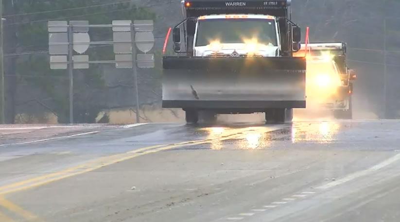 ALEA reporta múltiples choques en el condado de Marion, debido a las condiciones climáticas