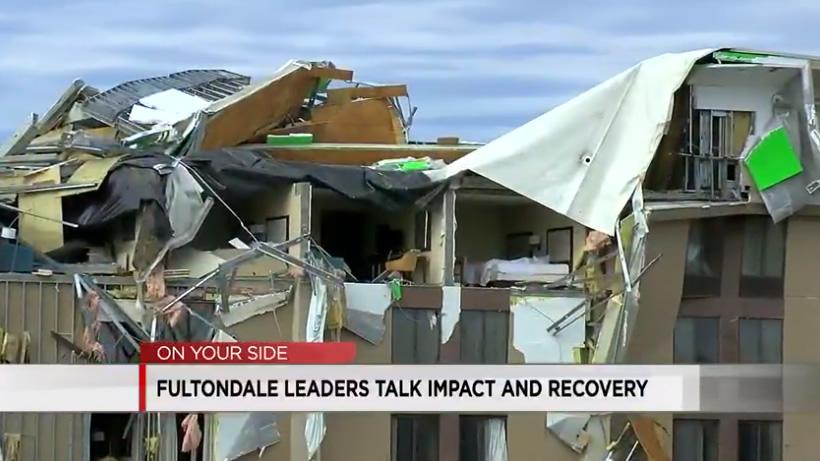destrozos por huracan en fultondale