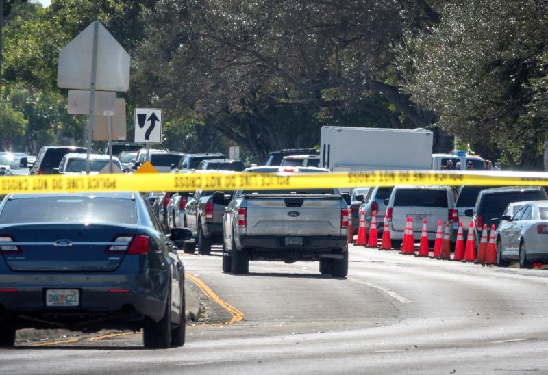 El FBI identifica al tirador que acabó con la vida de dos agentes en Florida
