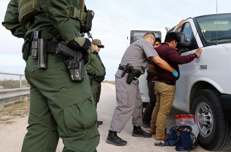 La llegada de indocumentados en la frontera con México se duplicó en enero