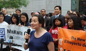 Mujeres inmigrantes de Nueva York exigen seguro médico para todos