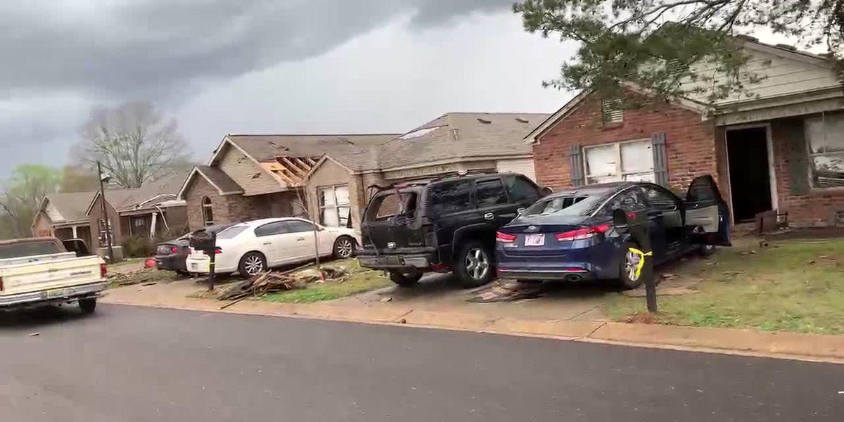 Destrozos por tormentas en Tuscaloosa