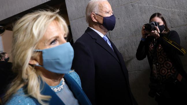Joe Biden y primera dama