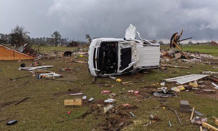 casas destruidas en el Condado de Chilton