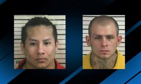 dos presos en libertad tras fuga