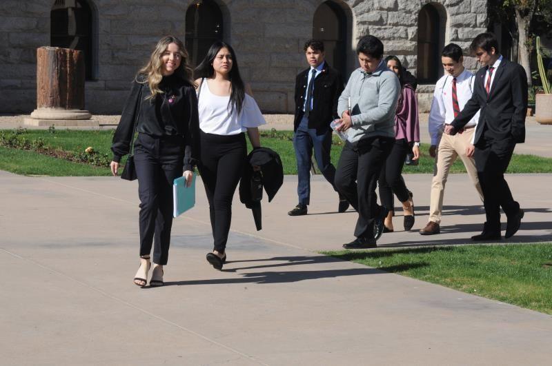 estudiantes en arizona