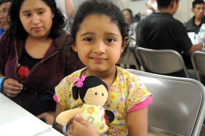 guatemalteca Sarai 5 anos