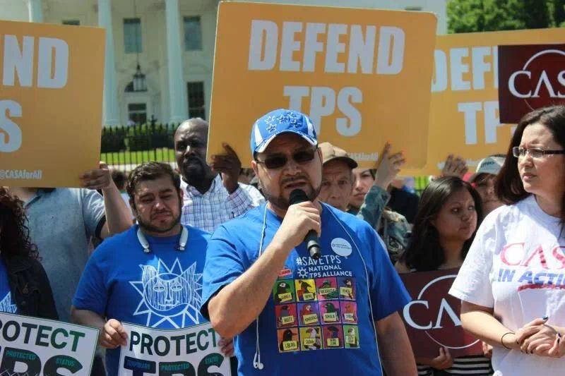 hondureno Mardoel Hernandez beneficiario TPS