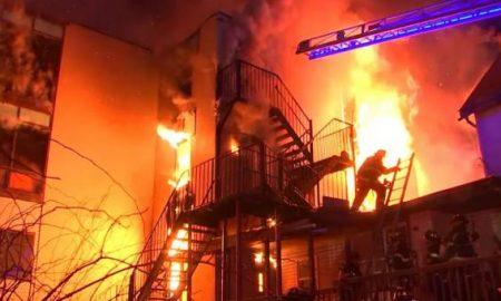 incendio en residencia para adultos mayores
