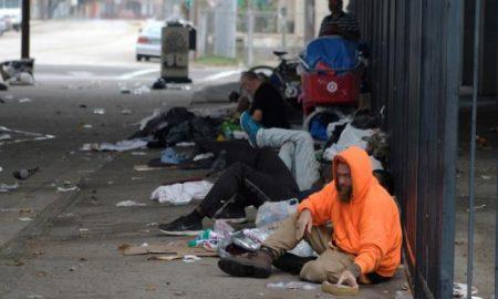 indigentes en Texas