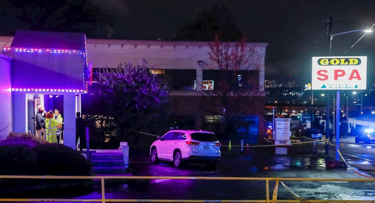 ocho muertos en tiroteos en tres salones de masajes asiaticos en atlanta
