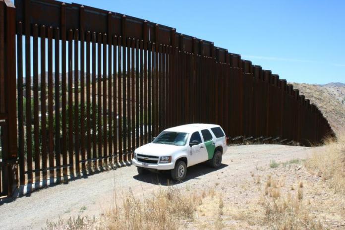 patrulla fronteriza en Arizona