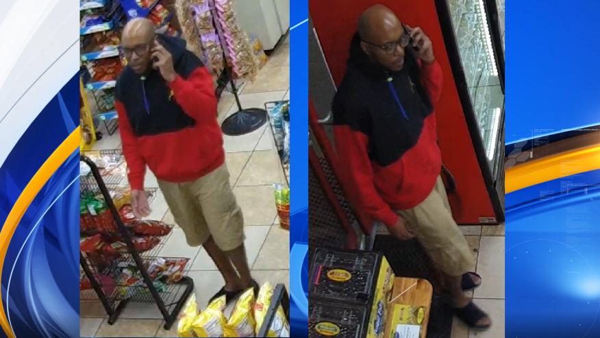 policia busca persona por robo a gasolinera