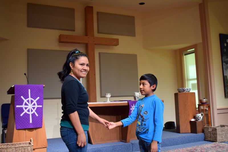 Hilda Ramirez e hijo