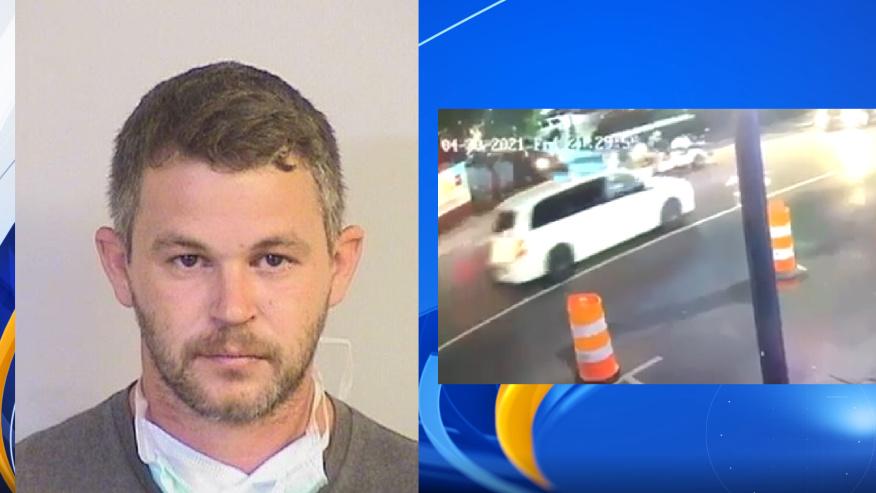 Hombre ebrio estrelló carrito de golf, hiriendo a 2 estudiantes