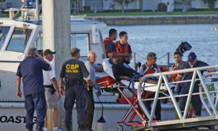 Dos muertos y 10 desaparecidos al volcarse una embarcación al sur de Florida
