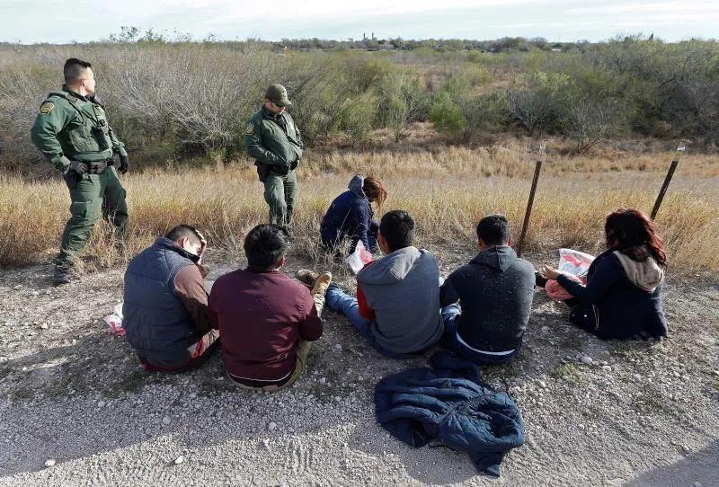 La Patrulla Fronteriza detiene a 278 migrantes en Texas