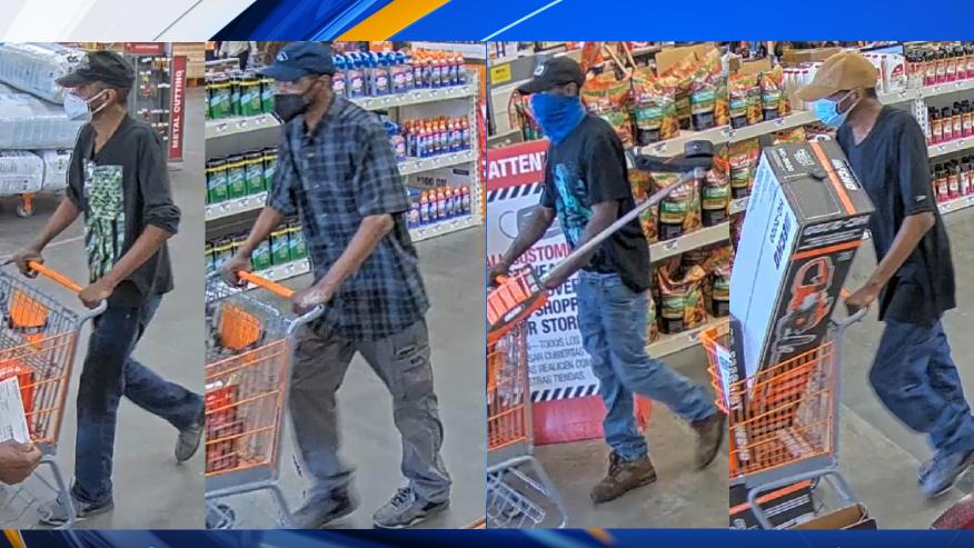 Policía de Prattville busca ladrones de tiendas de Home Depot