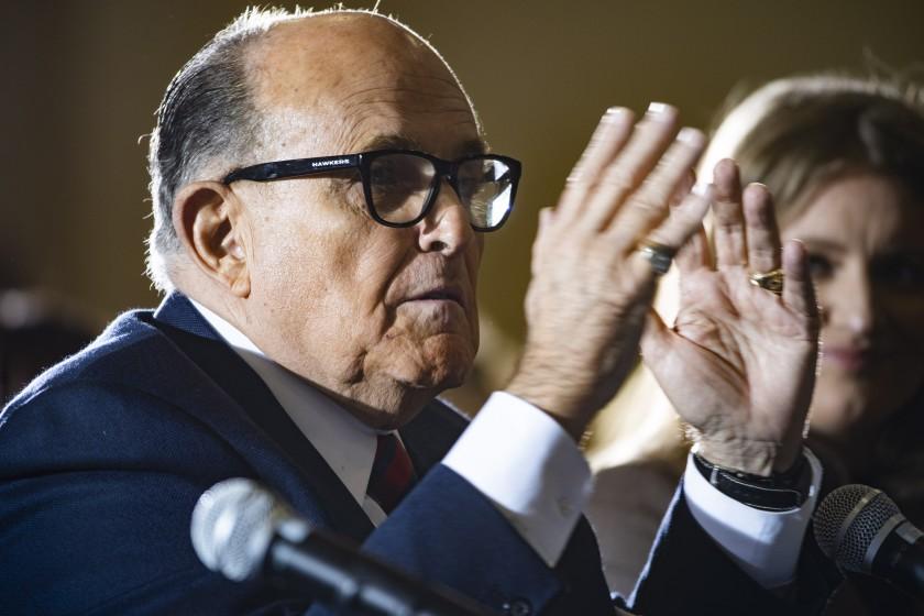 Nueva York suspende a Rudy Giuliani como abogado por falsos testimonios
