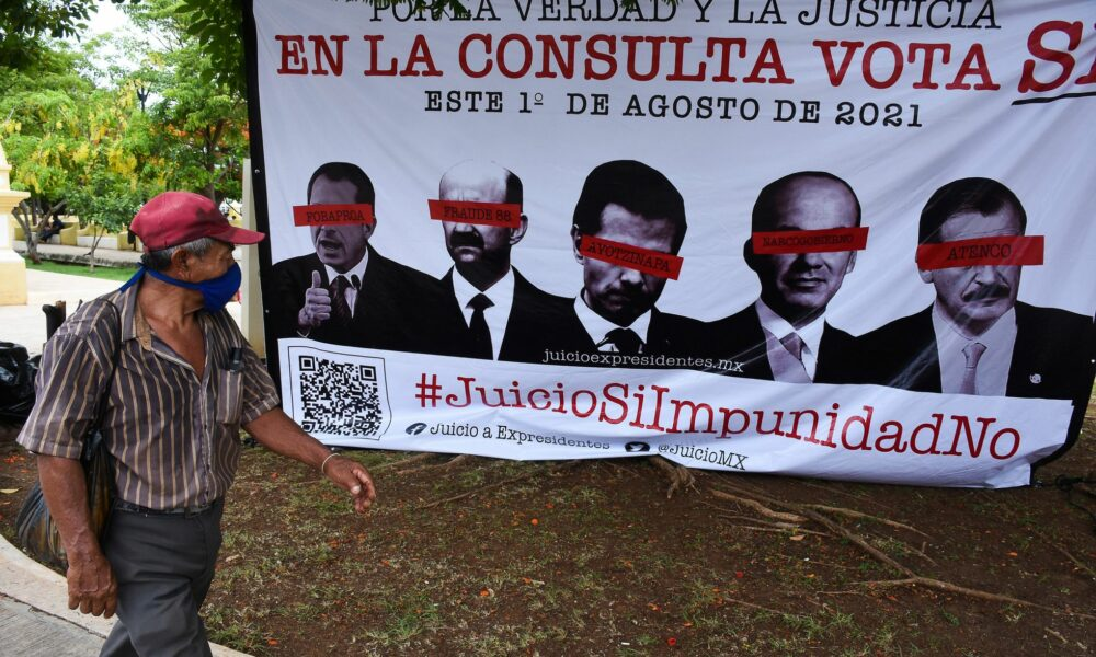 Consulta para juzgar a los expresidentes en México