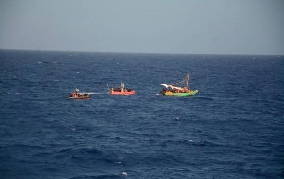 EE.UU. repatría a 260 haitianos que viajaban cerca de Cuba y Haití