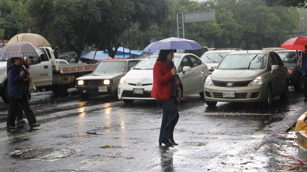 Alerta en el Valle de México por lluvias y granizo