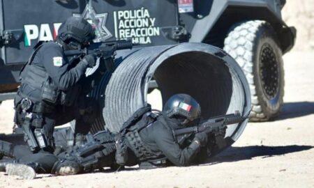 Militares y policías abaten en Hidalgo, Coahuila, a nueve sujetos armados