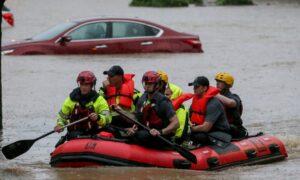 Fuertes lluvias provocan múltiples rescates acuáticos en Birmingham