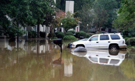 Limpieza en curso en Pelham después de las inundaciones repentinas del miércoles