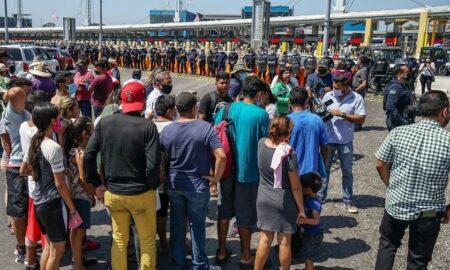 """EE.UU. quiere restablecer """"Permanecer en México"""" a mediados de noviembre"""
